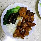 海参卤肉饭
