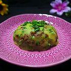 脆哨土豆泥(贵州特色菜)