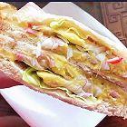 蟹柳土豆低脂三明治