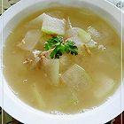 肉沫虾米冬瓜汤
