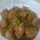 番茄酱汁莲藕肉丸