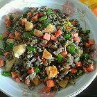 黑米蛋炒饭