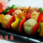 蔬菜鱼丸串