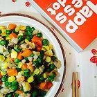 虾仁炒青豆玉米香菇