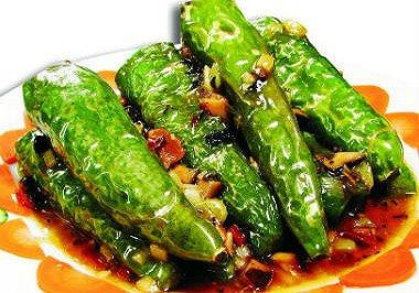 虎皮辣椒(塞肉或者鸡蛋的做法)
