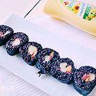 黑米紫菜包饭