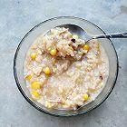 核桃玉米鸡肉粥