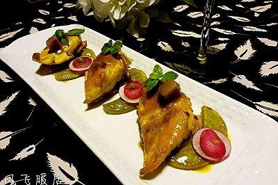 咖喱焖鸡胸肉