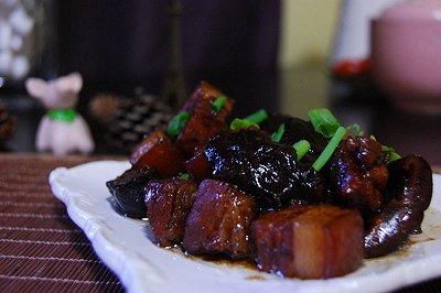 香菇红烧肉(无油版)
