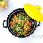 黑乐砂锅烤鲈鱼