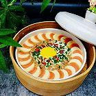 玉子豆腐蒸肉末鸡蛋