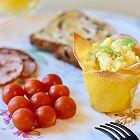 好吃好看的鸡蛋杯早餐