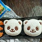 芝士萌娃熊熊三明治