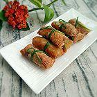 炸春卷(饺子皮)