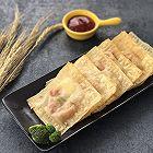 快手零食 西兰花鹌鹑蛋咖喱饼