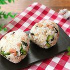 日式饭团-紫苏叶火腿饭团