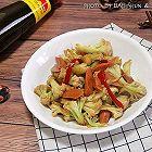 花菜炒火腿肠