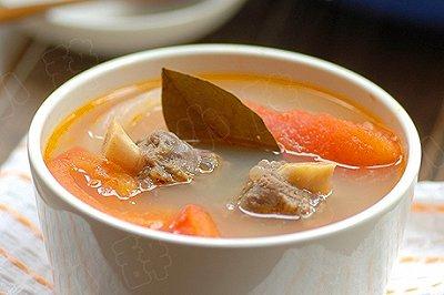 番茄牛尾清汤