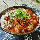 麻辣水煮牛肉米线