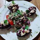 紫薯渔船沙拉