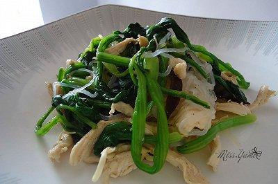 超简单减脂小菜凉拌鸡胸肉
