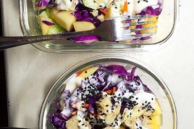 紫甘蓝鸡胸肉沙拉