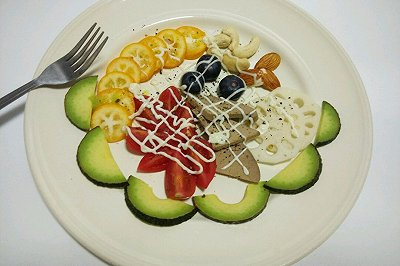 减肥餐水果沙拉