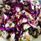 紫甘蓝肉末炒饭