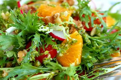 法汁蔬果沙拉
