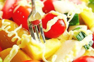 缤纷果蔬沙拉