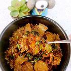 五花肉香菇焖饭
