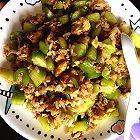 黄瓜青椒炒蛋饭
