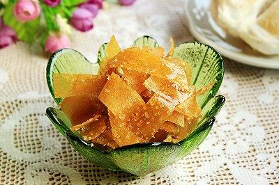 白糖柚子皮