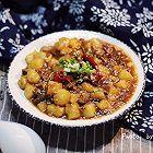 香辣米豆腐烧牛肉