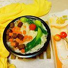 牛肉粒金针菇汤面
