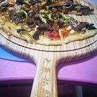 无芝士牛肉蘑菇披萨