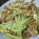 黄花菜莴笋炒肉
