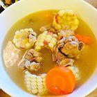 玉米胡萝卜排骨煲汤