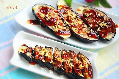 夏季爽口食品肉末茄子盅