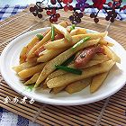 蚝香茭白炒火腿