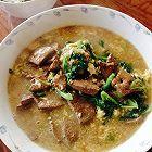 补血油菜猪肝汤