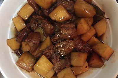 苹果红烧肉
