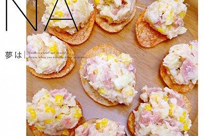 千岛火腿土豆玉米沙拉
