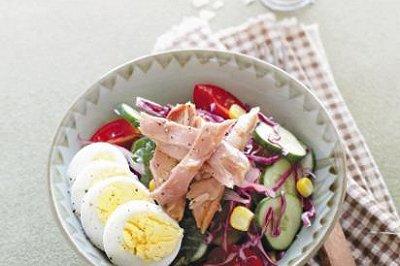健康五色沙拉