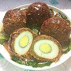 四喜丸子(里面有鸡蛋)
