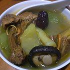 香菇青笋炖鸡