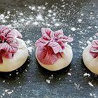 紫色花饺子