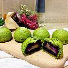 紫薯糯米抹茶酥