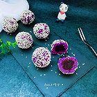 豆沙紫薯球