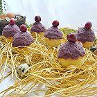 紫薯泥小房子麦芬蛋糕